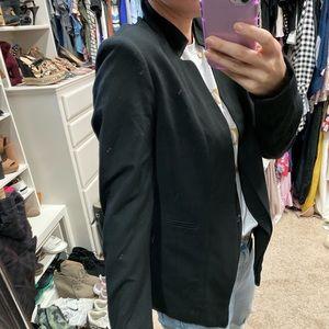 Neiman Marcus Jackets & Coats - Neiman Marcus brand size small mock neck blazer